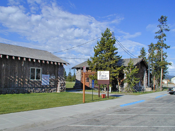West Yellowstone Montana Public Library