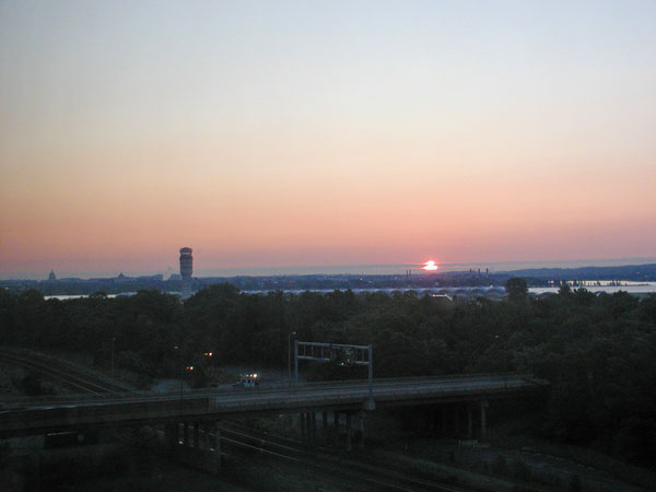 Sunrise over DC