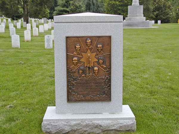 Memorial to Challenger astronauts