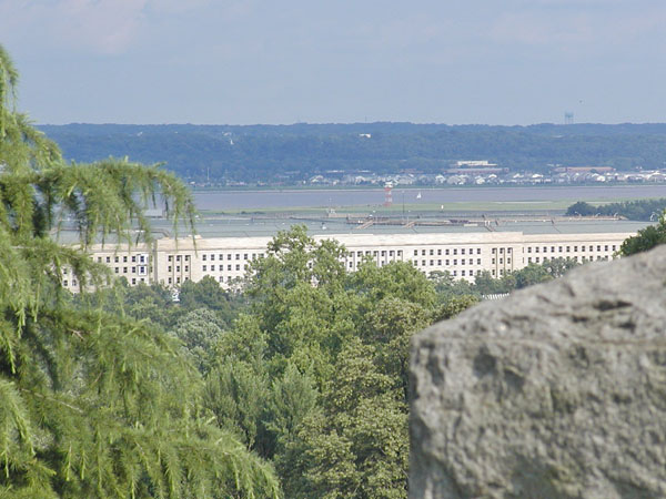 Pentagon from Arlington Cemetery